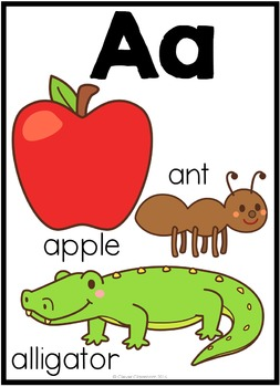 Alphabet Posters and Cards Set 2