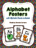 Alphabet Posters and Chart