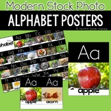 Alphabet Posters and Chart, Modern Stock Photo Styled