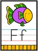 Alphabet Letters for Wall | Letter Cards Upper Case and Lower Case