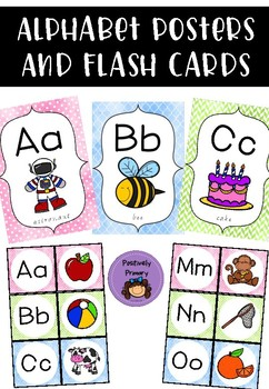 Alphabet Posters and Flash Cards