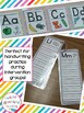 Alphabet Posters and Handwriting Practice Cards