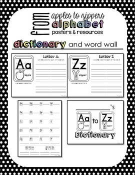 Alphabet Posters and Resources {Primary Print, Rainbow Brights Edition}