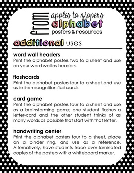 Alphabet Posters and Resources {Print & Cursive, Rainbow Brights Edition}
