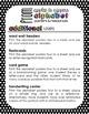 Alphabet Posters and Resources {Print & Cursive, Rainbow B