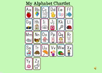 Alphabet Posters and Slideshow Bundle