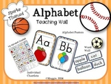 Alphabet Posters and Teaching Wall + Matching Bonus ABC Chartlets