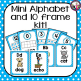 Alphabet Posters and Ten Frames-Mini kit!