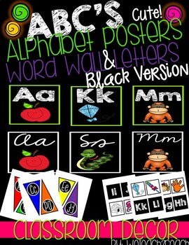 Alphabet Posters and Word Cards