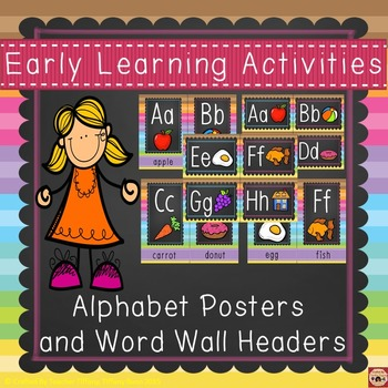 Alphabet Posters and Headers