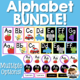 Alphabet Posters and Word Wall Headers BUNDLE
