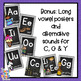 Chalkboard Alphabet Posters - 2 sets, full size poster & w