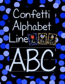 Alphabet Posters (confetti)