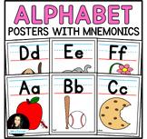 Alphabet Posters Classroom Decor | Back to School