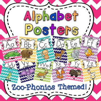 Alphabet Posters for Display
