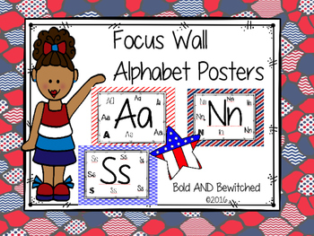 Alphabet Posters for Focus Wall