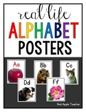 Alphabet Posters for PK-2--Real Life Photos!