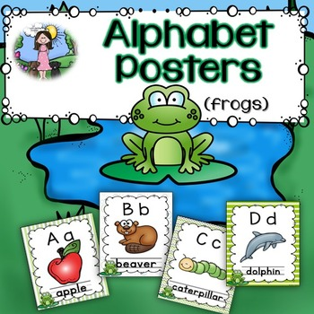 Alphabet Posters (frogs)