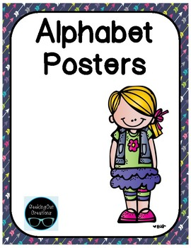 Alphabet Posters included in the Alphabet Mega Bundle