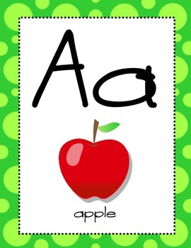 Alphabet Posters including Consonant Blends and Digraphs
