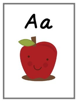 Alphabet Posters or Word Wall Headers to go with Mondo Reading Program