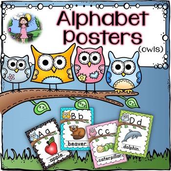 Alphabet Posters (owls)