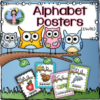 Alphabet Posters (owls)