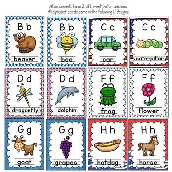 Alphabet Posters (patriotic)