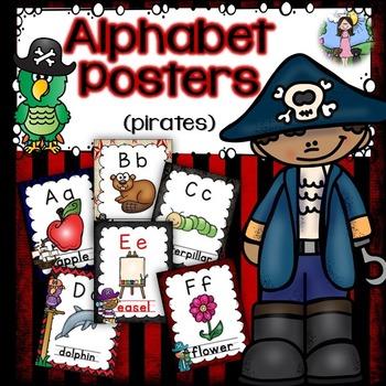 Alphabet Posters (pirates)
