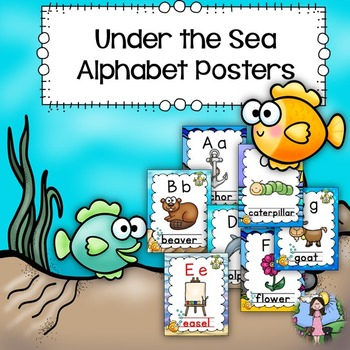Alphabet Posters (under the sea)