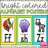 Alphabet Posters with Blends and Digraphs