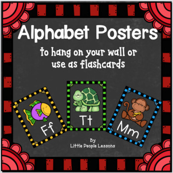 Alphabet Posters with Krista Walden clip-art