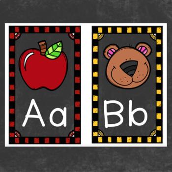 Alphabet Posters with Krista Walden clip-art