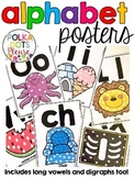 Alphabet Posters with Long Vowels and Digraphs