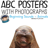 Classroom Decor Alphabet Posters with Photographs