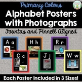 Alphabet Posters with Photographs - Fountas and Pinnell Al
