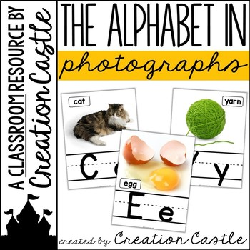 Alphabet Posters with Real Photos