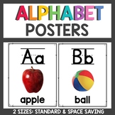 Clean and Simple Classroom Decor Alphabet Posters