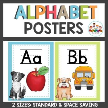 Dog Themed Classroom Decor Alphabet Set