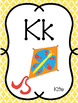 Alphabet Posters with Word Wall Cards