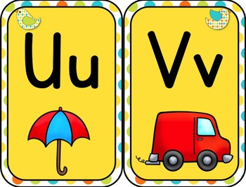 Alphabet Posters with digraphs