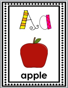 Alphabet Posters (with short & long vowels & hard & soft c & g) Classroom Decor