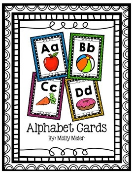 Alphabet Posters/Cards