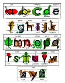 Alphabet PowerPoint Bundle- All 26 Letters A-Z - Distance