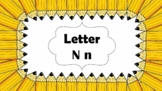 Alphabet PowerPoint Shows (From Letter N to Letter Z) Bundle