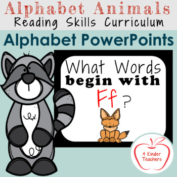 Alphabet PowerPoint - Words That Begin With Ff