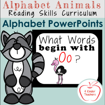 Alphabet PowerPoint - Words That Begin with Oo