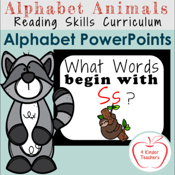 Alphabet PowerPoint - Words That Begin with Ss