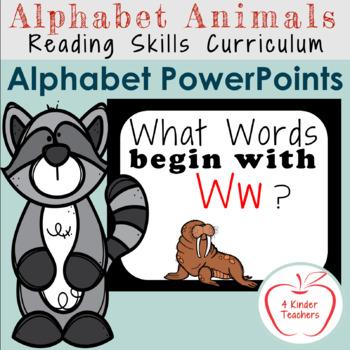 Alphabet PowerPoint - Words That Begin with Ww
