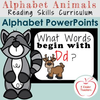 Alphabet PowerPoint - Words That Begin With Dd